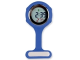 Show details for DIGITAL SILICONE NURSE WATCH - blue
