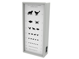 Show details for OPTOMETRIC CHART - ANIMALS