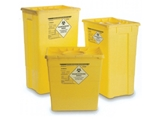 Show details for WASTE CONTAINER 60 l - double lid 1psc
