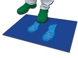 Vairāk informācijas par Antibakteriālais paklājs 45x90  cm - 30 kārtas - zils 5gab