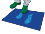 Show details for DECONTAMINATING MAT 90x115 cm - 30 layers - blue