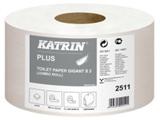 Vairāk informācijas par KATRIN Plus Gigant S 2 tualetes papīrs ruļļos, 2-slāņu, 100 m, balts, perforēts , 12 ruļļi/ iepakojumā