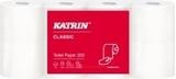 Vairāk informācijas par KATRIN Classic Toilet 200 tualetes papīrs ruļļos, 2-slāņu, 23.4 m, balts, perforēts , 40 ruļļi/ iepakojumā