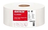 Vairāk informācijas par KATRIN Classic Gigant M 2 tualetes papīrs ruļļos, 2-slāņu, 340 m, balts, perforēts , 6 ruļļi/ iepakojumā
