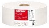 Vairāk informācijas par KATRIN Classic Gigant L 2 tualetes papīrs ruļļos, 2-slāņu, 440 m, balts, perforēts , 6 ruļļi/ iepakojumā