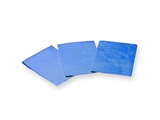 Show details for FOLDED NAPKINS - 33x45 cm blue, 500 pcs.