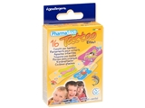 Show details for PHARMADOCT TATOO CHILDREN PLASTERS 2 sizes- carton of 12 boxes of 16
