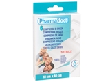 Show details for PHARMADOCT COTTON GAUZE SWABS 18x40 cm - carton of 12 boxes of 6