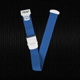 """Показать информацию о """"T-QUET"""" синий гемостатический плоский териленовый жгут с мгновенным высвобождением 100шт"""