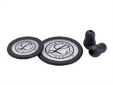 Show details for LITTMANN KIT 40016: 2 DIAPHRAGMS+RIM+EARTIPS for Classic III, Cardiology IV - black - blister