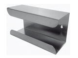 Show details for GLOVE DISPENSER - single - stainless steel, 1 pc.