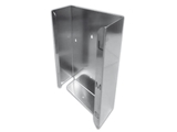 Show details for GLOVE DISPENSER - triple - stainless steel, 1 pc.