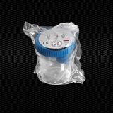 """Vairāk informācijas par """"SEKUR TAINER"""" ® polipropilēna urīna trauks ar graduētu 120 ml tilpumu ar gaiši zilu skrūvējamu vāciņu ar paraugu ņemšanas ierīci vakuuma mēģenēm, atsevišķi iesaiņotas STERILE R 100gb"""