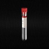 Vairāk informācijas par Sterila polistirola cilindriskā mēģene 16x100 mm 10 ml ar sarkanu aizbāzni un sarkanu etiķeti 100gb