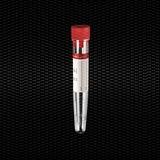 Vairāk informācijas par Sterila polistirola koniska testa mēģene 16x100 mm 10 ml ar sarkanu aizbāzni un sarkanu etiķeti 100gb