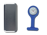 Show details for SILICONE NURSE WATCH - blue, 1 pc.