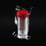 Vairāk informācijas par Polipropilēna fekāliju trauks 30 ml 27x80 mm ar sarkanu skrūvējamu vāciņu, atsevišķi iesaiņotu Sterilu R 100gb