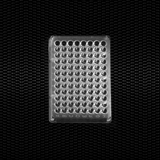 Show details for Polystyrene microtiter plate with 96 flat bottom wells individually wrapped 100pcs