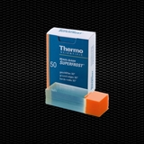 "Show details for MENZEL ""SUPERFROST""® orange microscope slides 26x76 mm bevelled edges, 45° corner and frosted end 100pcs"