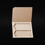 Show details for 2 places cardboard slide mailer for 26x76 mm slides 100pcs