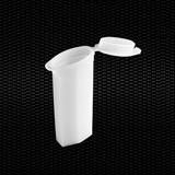 Vairāk informācijas par Divvietīgs polietilēna bīdāms konteiners ar vāku. 47x20x85 mm 26x76 mm slaidiem 100gab