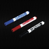 Vairāk informācijas par Filca pildspalvas ar neizdzēšamu tintes sarkanu krāsu 100gab