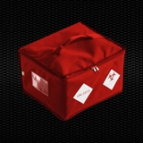 """Show details for """"BIO BAG""""Red isothermal bag for specimen transport, dimensions 30x27x20 cm, 16.8 Lt vol. for 2 containers 1pcs"""