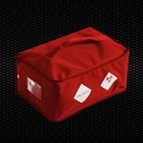 "Show details for ""BIO BAG"" Red isothermal bag for specimen transport with shoulder belt, dimensions 45x27x40 cm, 46 Lt vol. for 6 containers 1pcs"