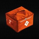 Vairāk informācijas par Oranžs izotermisa soma ķīmijterapijas zāļu pārvadāšanai, izmēri 30x27x20 cm, 16.8 Lt tilpums 1 gab