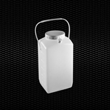 Show details for Square saving bottle graduated for 24 h urine collection 2500 ml with cap for easy sampling and handle 100pcs