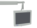 Show details for MONITOR HOLDING ARM - integrated with light