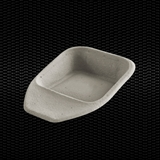Show details for Disposable bed pan in 100% biodegradable paper 100pcs