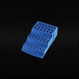 Показать информацию о  полипропиленовая стойка для микропробирок 24шт.