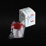 "Show details for Polypropylene urine container 120 ml with screw cap individually wrapped in single box ""BIO-TAINER"" 100pcs"