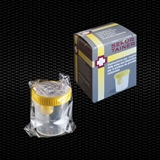 "Show details for ""SEKUR TAINER®"" urine container 120 ml sterile with screw cap with sampling device for vacuum tube individually wrapped in single box 100pcs"