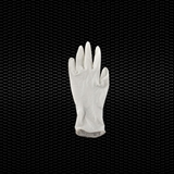 Show details for Powder free latex examination gloves large size AQL 1,0 100pcs