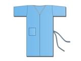 Vairāk informācijas par Neausts kimono  - zils, 100 gab.
