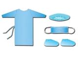 Show details for VISITOR DRESSING KIT, 25 pcs.
