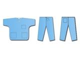 Show details for NON WOVEN UNIFORM COAT + PANTS - L, 50 pcs.