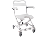 Show details for SHOWER COMMODE WHEELCHAIR 1pcs