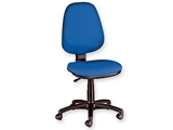 Show details for CUNEO CHAIR without armrest - fabric- blue 1pcs