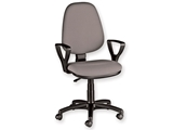 Show details for  CUNEO CHAIR  with armrest - fabric - grey 1pcs