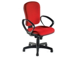 Show details for CREMONA CHAIR - fabric - red 1pcs