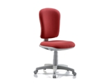 Show details for VARESE CHAIR without armrest - fabric - red 1pcs