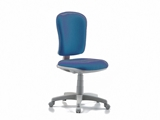 Show details for  VARESE CHAIR without armrest - fabric - blue 1pcs