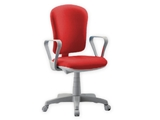 Show details for VARESE CHAIR with armrest - fabric - red 1pcs