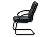 Show details for SALISBURGO EXECUTIVE CHAIR - leather - cantilever 1pcs