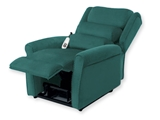 Show details for GINEVRA LIFT ARMCHAIR 2 motors - green 1pcs