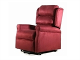 Show details for GINEVRA LIFT ARMCHAIR 2 motors - burgundy 1pcs