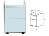 Show details for DRAWER S1 - light blue 1pcs